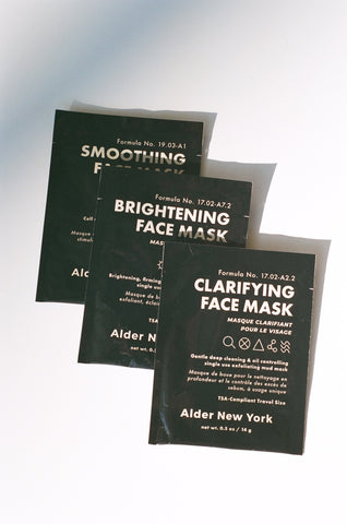 Alder New York Face Masks / Available in Multiple Treatments