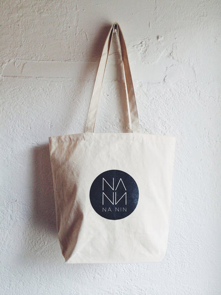 Large Canvas Na Nin Tote