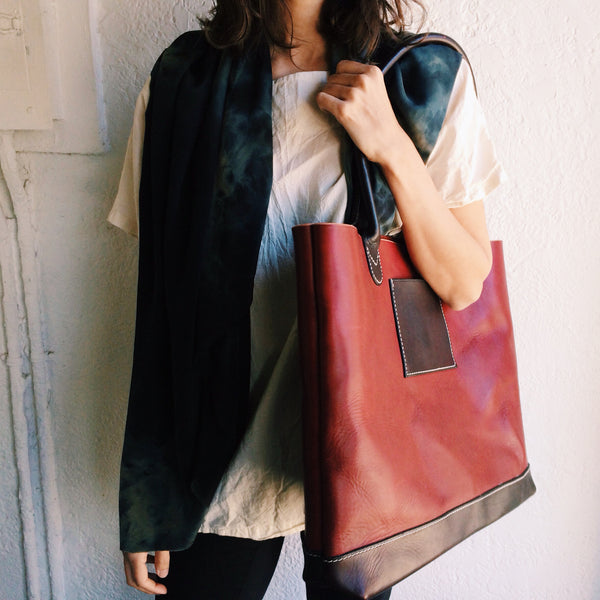 WARHORSE WORKSHOP LEATHER TOTE