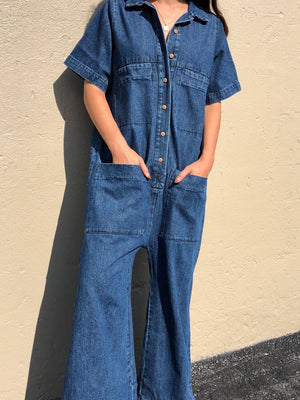 Ilana Kohn Mabel Coverall / Denim