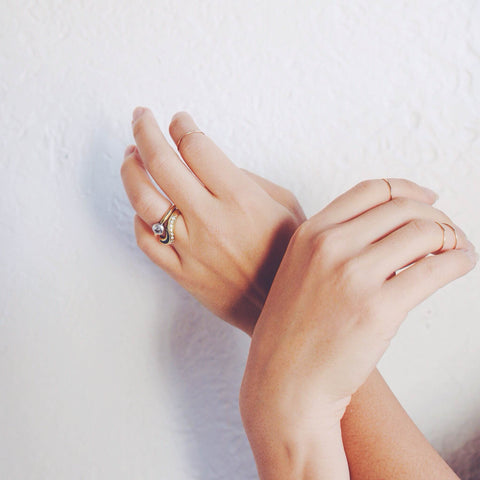 CONSIDER THE WLDFLWRS Simple Stackable Ring