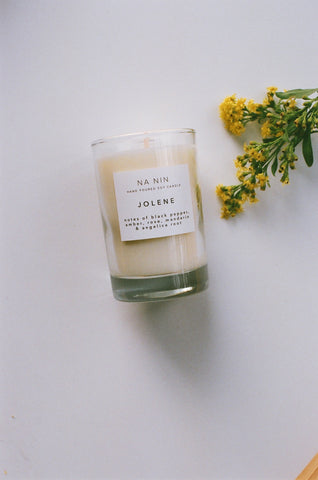 Jolene Candle / Available in 5oz & 8oz