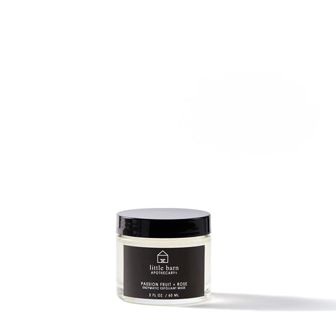 LITTLE BARN APOTHECARY / PASSION FRUIT + ROSE ENZYMATIC EXFOLIANT MASK
