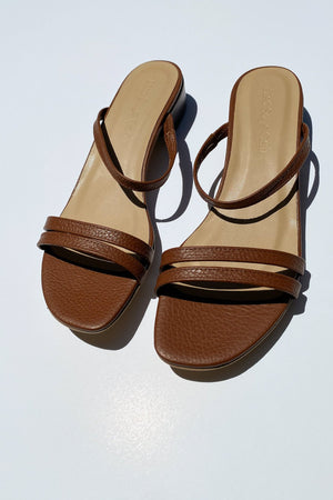 Lisa Says Gah Gia Sandal / Available in Cappuccino
