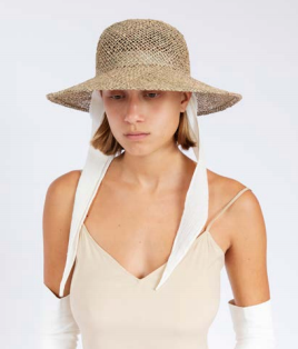 Clyde Koh Hat / Available in Black & Seagrass