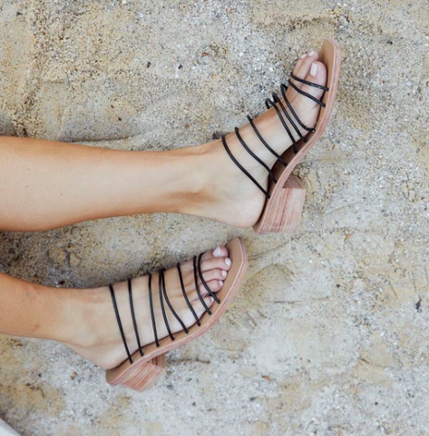 St. Agni Ines Sandal / Available in Black