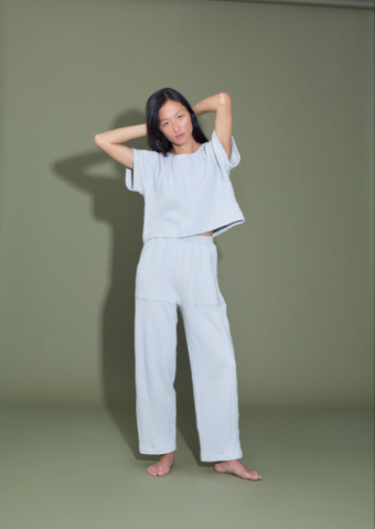 Ilana Kohn Pogi Pant / Available in Cloud and Dark