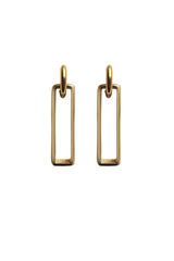 LAURA LOMBARDI GATE EARRINGS