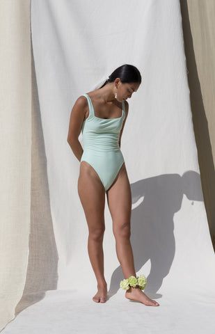 Pari Desai Slyph Swimsuit / Mint