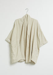 ATELIER DELPHINE / HAORI COAT IN BIRCHWOOD