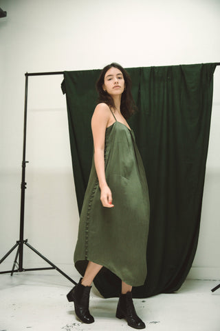 Ajaie Alaie Full Moon Dress 2.0 / Fern