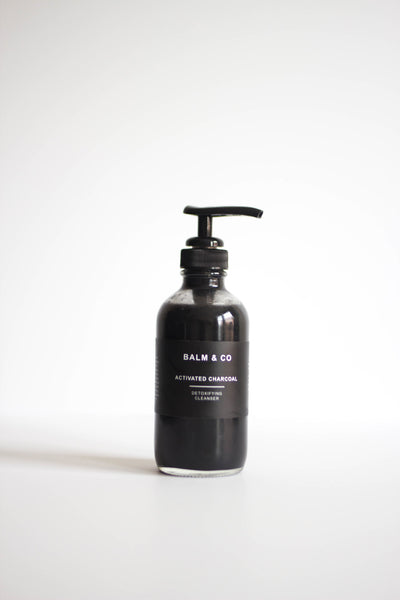 Balm & Co.  /  Activated Charcoal Cleanser