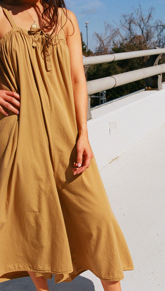 Revisited Marsella Jumpsuit Dark Gold