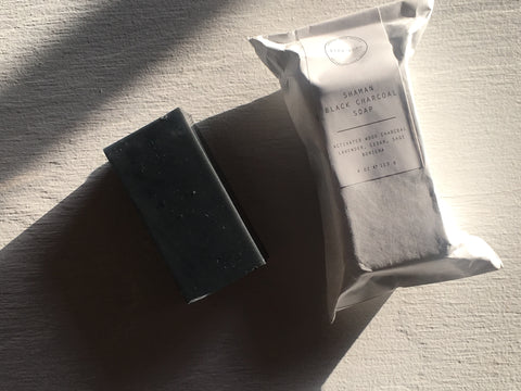 Binu Binu Shaman Black Charcoal Soap