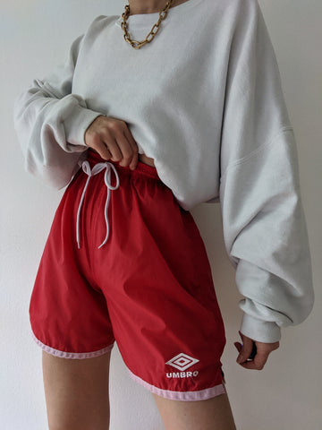 Vintage Cherry Umbro Sport Short