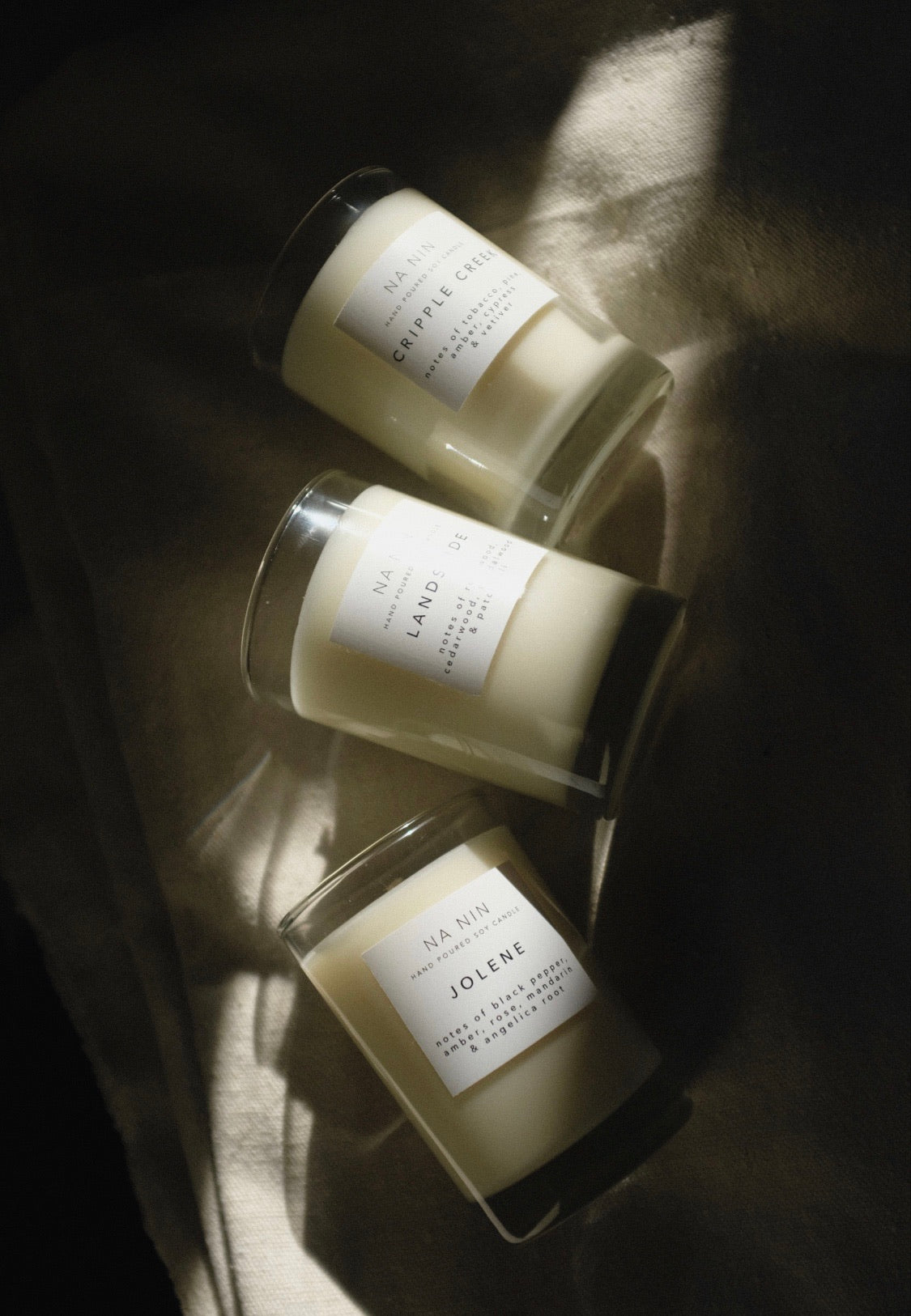 Na Nin Signature Collection : 5oz Candle Trio Set