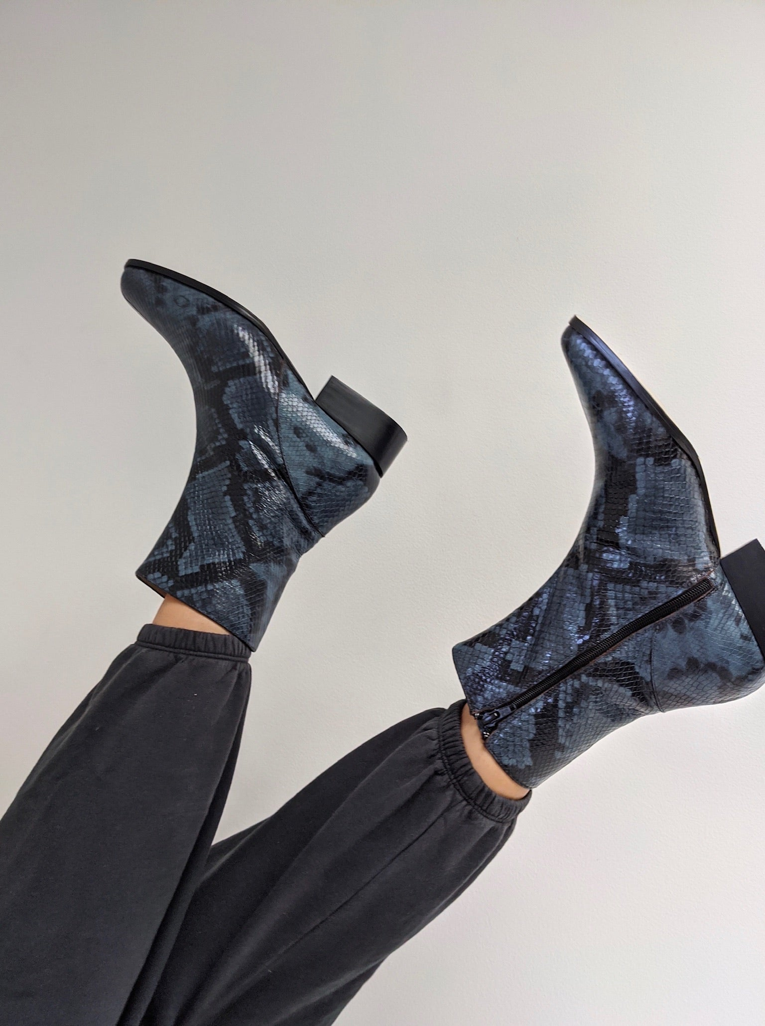 Paloma Wool Edna Boot / Available in Dark Navy