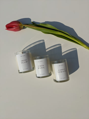 Na Nin Garden Collection: Votive Candle Trio Set