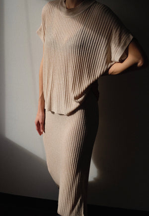 Diarte Issa Top / Available in Mottled Beige