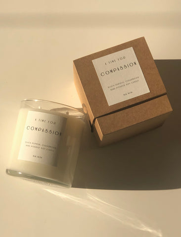 Compassion Capsule: Black Pepper & Cedarwood 9oz Candle