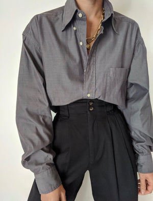 Charcoal Tommy Hilfiger Button Up