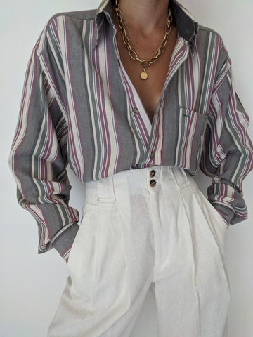 Striped Tommy Hilfiger Button Up
