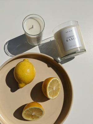 Lemon Basil Candle / Available in 5oz & 9oz
