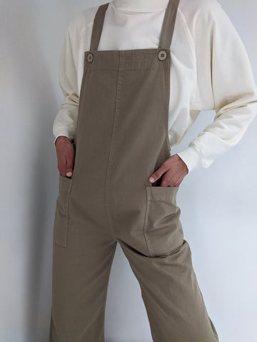 Ali Golden Overall Jumper / Available in Khaki