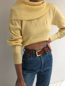 Vintage Lemon Turtleneck
