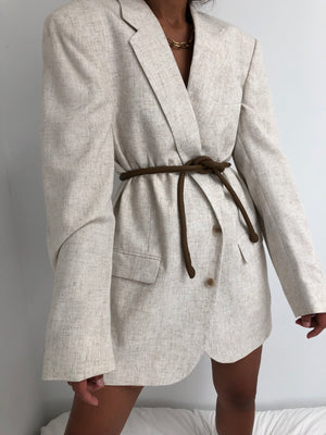 Are Studio Knot Belt / Toffee