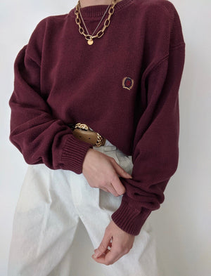 Faded Berry Tommy Hilfiger Sweater