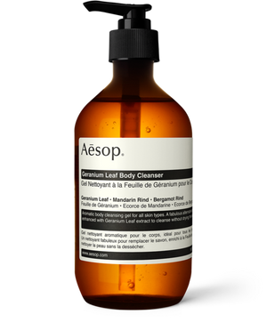 Aesop Geranium Leaf Body Cleanser / 200 & 500 mL