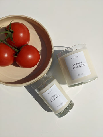 Garden Tomato Candle / Available in 5oz & 9oz