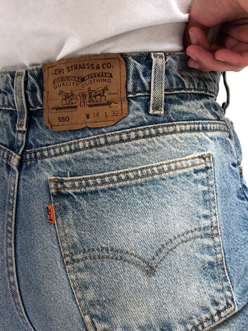 Vintage Orange Tab Levi Denim