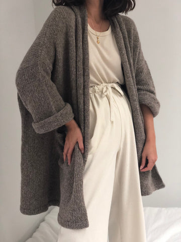 Atelier Delphine Haori Alpaca Sweater Coat / Multiple Colors Available