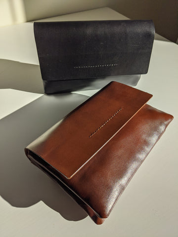 St. Agni Aren Clutch / Available in Antique Brown + Black