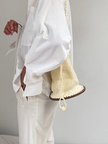 Kayadua Agudie Bag / Available in Black & Off White
