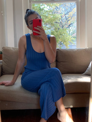 Diarte Bailey Jumpsuit / Available in Blue