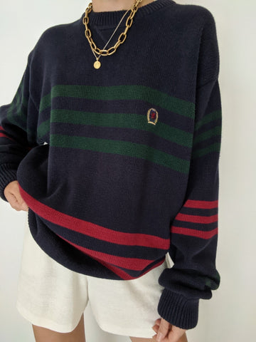 Tommy Hilfiger Striped Knit Pullover