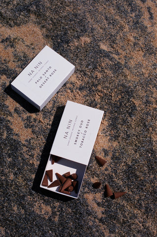 NA NIN PAIRINGS COLLECTION: INCENSE CONES / MULTIPLE SCENTS AVAILABLE