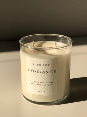 Compassion Capsule: Palo Santo & Black Currant 9oz Candle