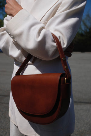 St. Agni Jolie Bag / Available in Antique Tan & Black