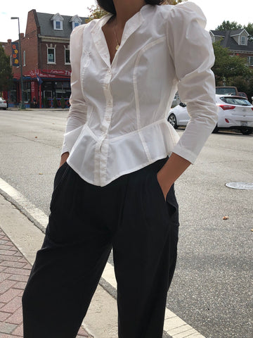 Town Clothes Rosa Blouse