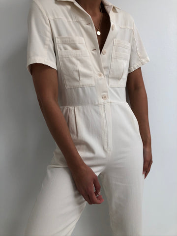 Paloma Wool Ada Jumpsuit / Available in Off-White