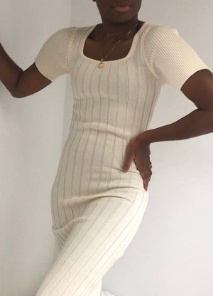 Diarte Margarida Dress / Available in White & Black