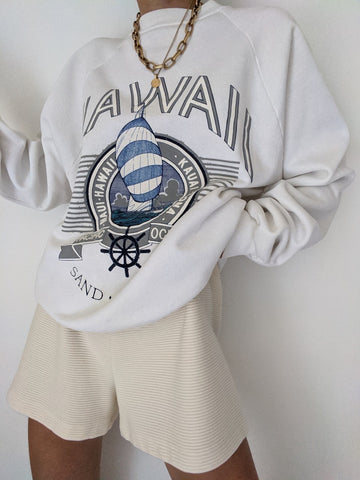 Vintage Hawaii Graphic Sweatshirt