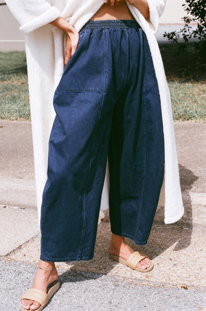 Ilana Kohn Abe Pant / Available in Oat + Mazarine