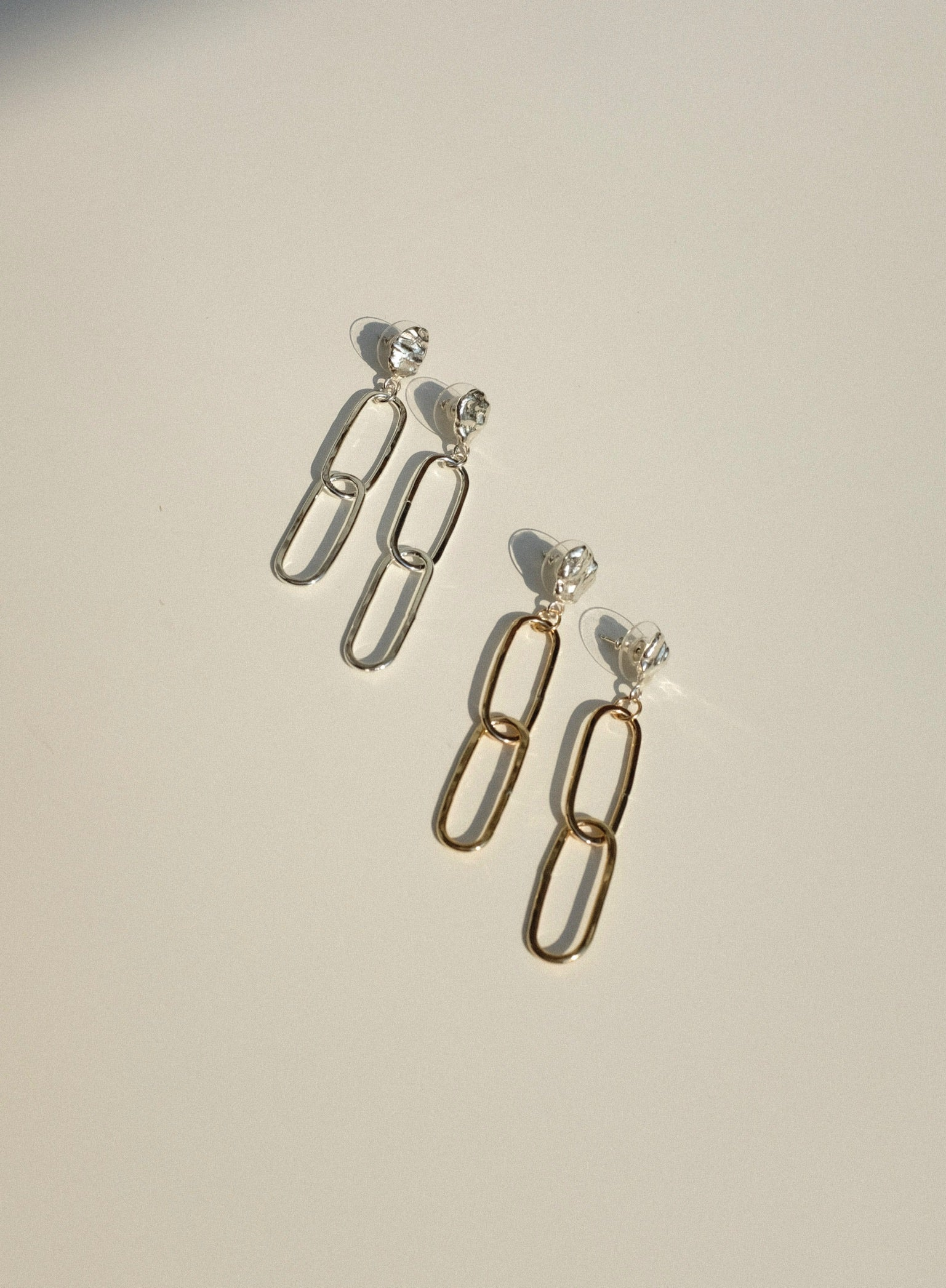 Sun & Selene Eudora Earrings/ Available in Gold & Sterling Silver