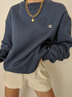 Vintage Classic Navy Champion Pullover