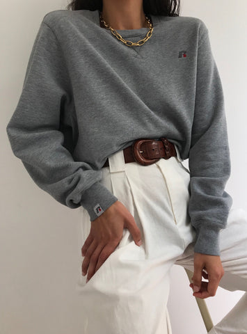 Vintage Russell Grey Pullover